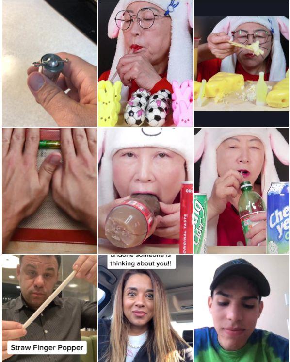 Straw Challenge TikTok